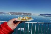 Greenlandic lunch
