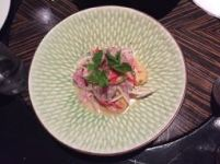 Amazon ceviche at Amaz